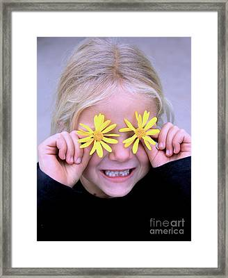 Sunshine Smile Framed Print