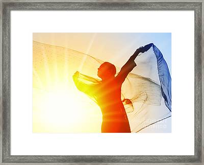 Sunshine Smile Framed Print by Tim Gainey