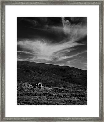 Sunshine Station Mono County Ca Framed Print by Troy Montemayor