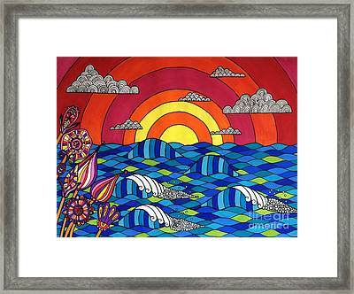 Sunshine Through My Window Framed Print by Susan Claire