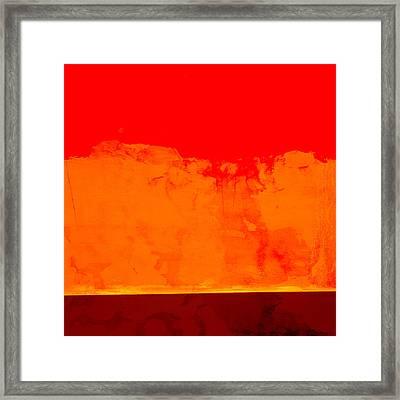Sunstorm Framed Print by Carol Leigh