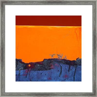 Sunstorm No. 2 Framed Print