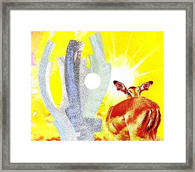 Suntrenched  Africa Framed Print by Hartmut Jager