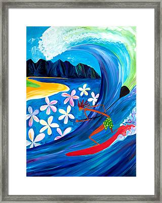 Sup Fun Framed Print by Beth Cooper