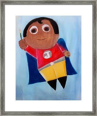 Super Artist Framed Print