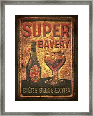 Super Bavery Framed Print