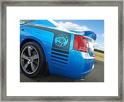 Super Bee Dodge Charger Srt8 Framed Print