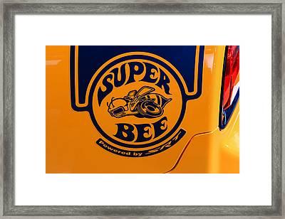 Super Bee Framed Print