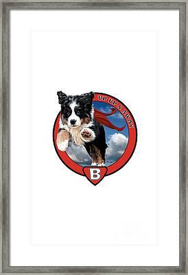 Super Berner Phone Framed Print
