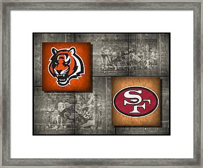 Super Bowl 16 Framed Print by Joe Hamilton
