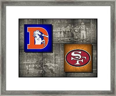 Super Bowl 24 Framed Print by Joe Hamilton
