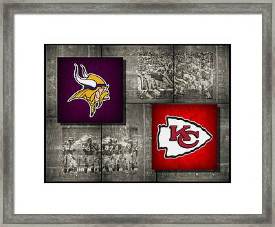 Super Bowl 4 Framed Print