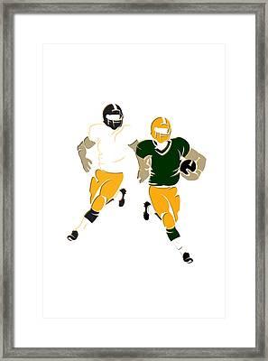 Super Bowl 45 Steelers Vs Packers Framed Print