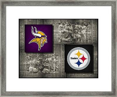 Super Bowl 9 Framed Print by Joe Hamilton