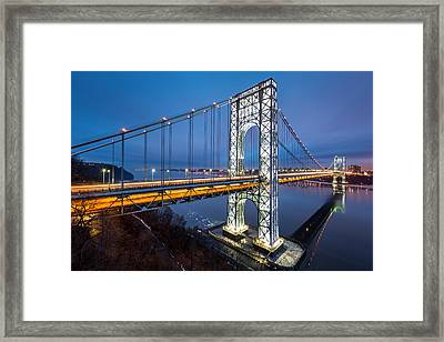 Super Bowl Gwb Framed Print by Mihai Andritoiu