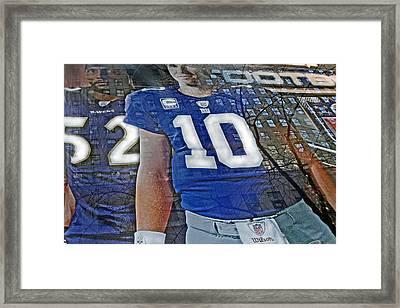 Super Bowl Xlvi Champions Framed Print by Gary Keesler