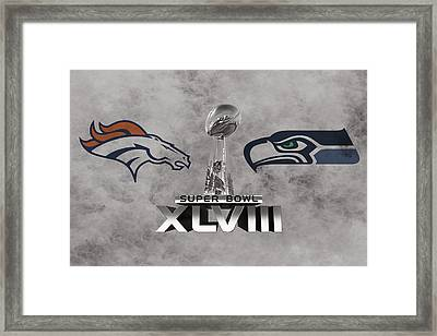 Super Bowl Xlvlll Framed Print