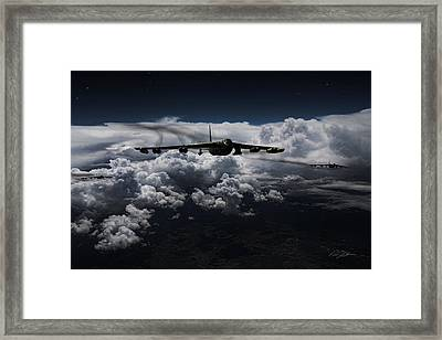 Super Cell Framed Print by Peter Chilelli
