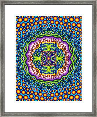 Super Cell Symmetry Framed Print by Matt Molloy