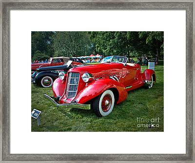 Super Charged 852 Framed Print by Grace Grogan