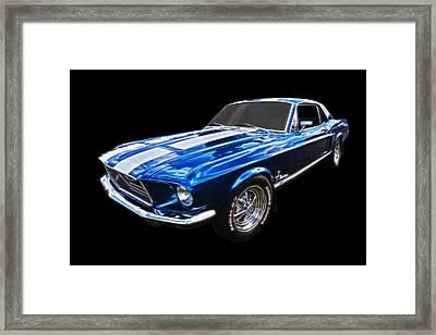 Super Cool Framed Print by Gill Billington