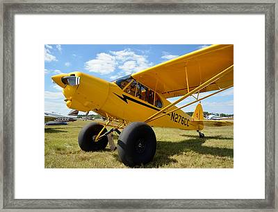 Super Cub Framed Print