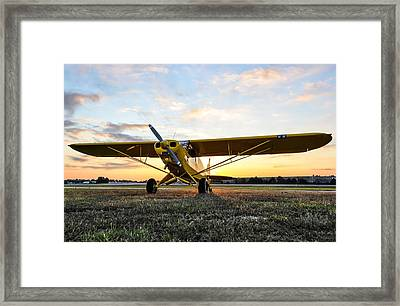 Super Cup Sunrise Framed Print