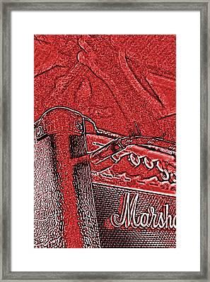 Super Grainy Marshall Framed Print