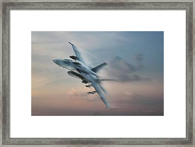 Super Hornet Framed Print