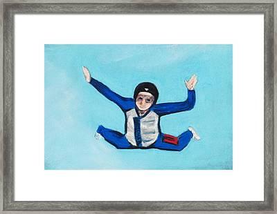 Super Kid Framed Print
