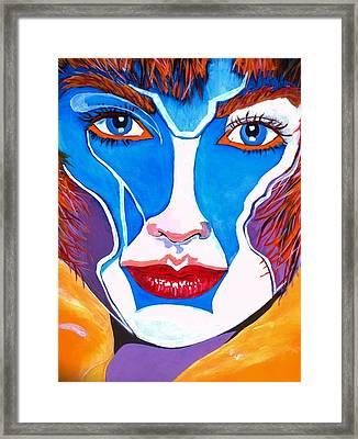 Super Mod 1 Framed Print by Michael Henzel