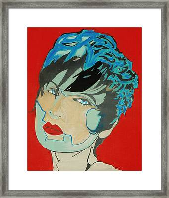 Super Mod 4 Framed Print by Michael Henzel