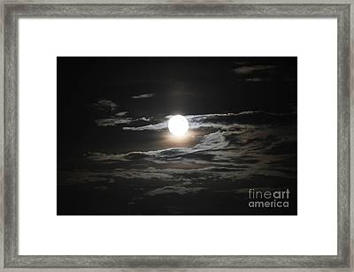 Super Moon 2013 Framed Print by Cathy Lindsey