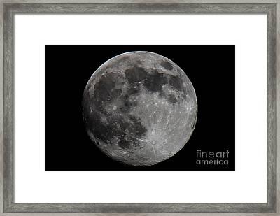 Super Moon 2014 Framed Print