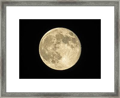 Super Moon 6-23-13 Framed Print by Dawn Key