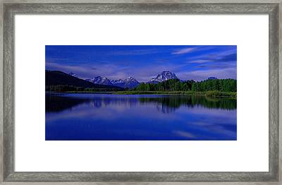 Super Moon Framed Print by Chad Dutson