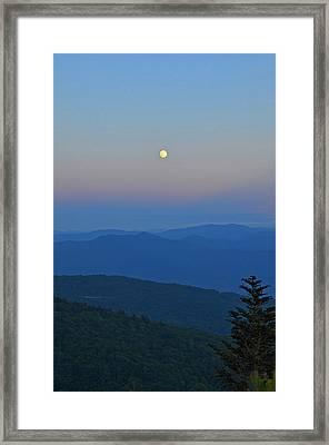Super Moon Framed Print by Mary Anne Baker