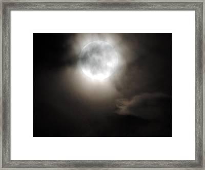 Super Moon Sunday Framed Print