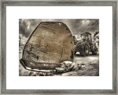 Super Plow Framed Print by Lliem Seven