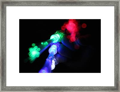 Super Powers Framed Print by Elizabeth Sullivan