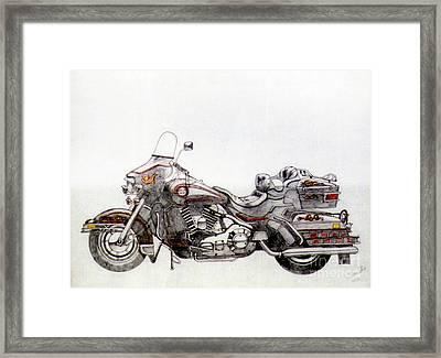 Super Smooth Framed Print by Stephen Brooks