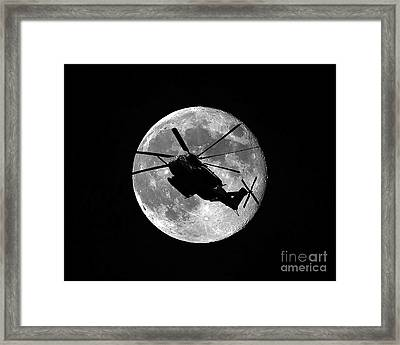 Super Stallion Silhouette Framed Print by Al Powell Photography USA