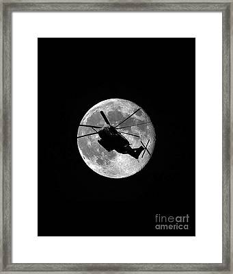 Super Stallion Silhouette Vertical Framed Print by Al Powell Photography USA