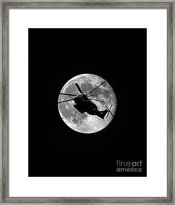 Super Stallion Silhouette Vertical Framed Print