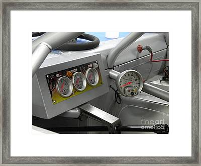 Super Stock Dash Framed Print