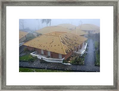 Super Typhoon Haiyan Framed Print