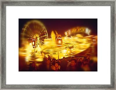 Superbowl Framed Print by Charles Stuart