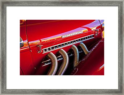 Supercharged Framed Print