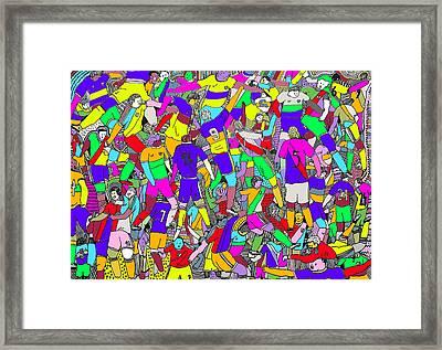 Superclasico Framed Print by Lino Divas