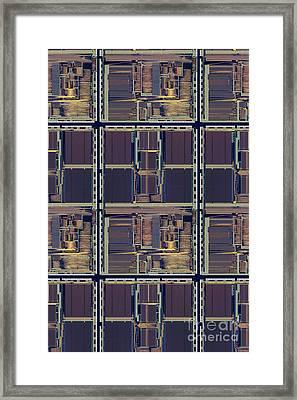 Supercomputer On A Chip Framed Print